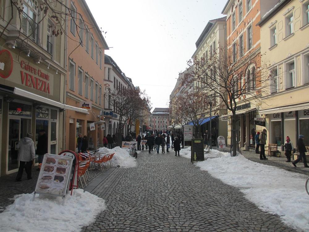 Die Reichenstraße in Bautzen ist eine beliebte Einkaufsmeile. Foto: BautzenerBote
