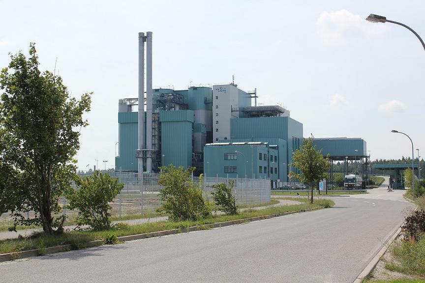 Die Verbrennungsanlage im Landkreis Bautzen in Lauta. Foto: BautzenerBote
