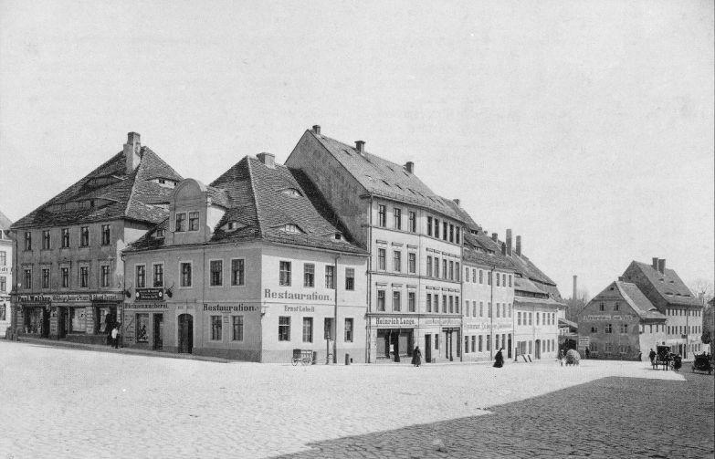 Bautzen-Kornmarkt-Rosenstraße-alt