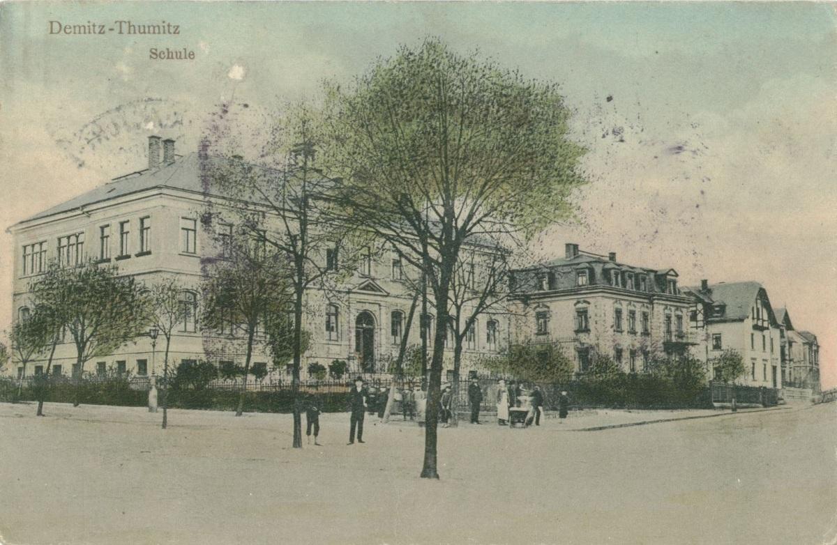 Alte Schule von Demitz-Thumitz.