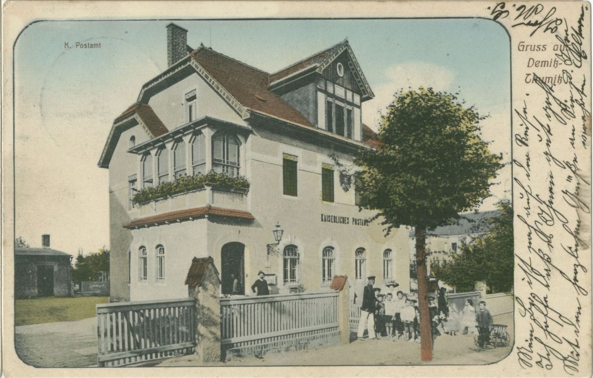 Altes Postamt Aufnahme 1912.