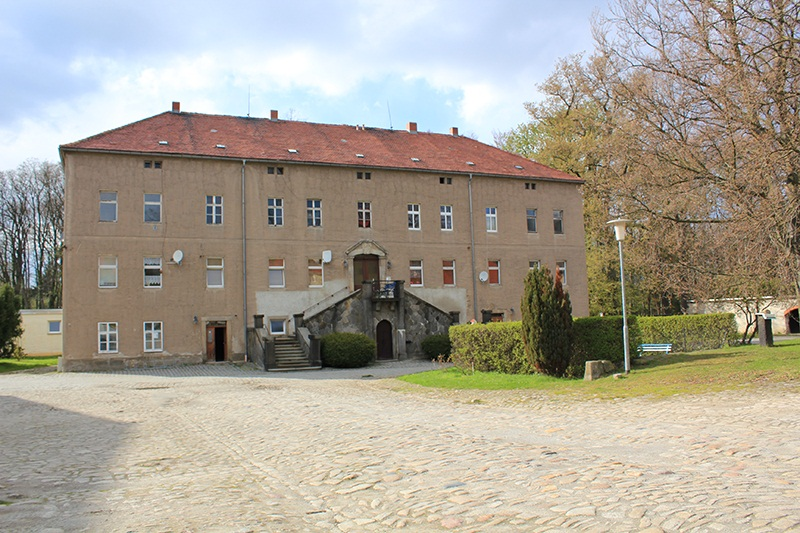 Schloß Rothnausslitz im April 2016