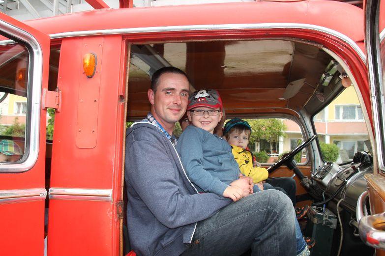 Die Feuerwehr Bautzen begeistert alle Gäste. Foto: Carmen Schumann