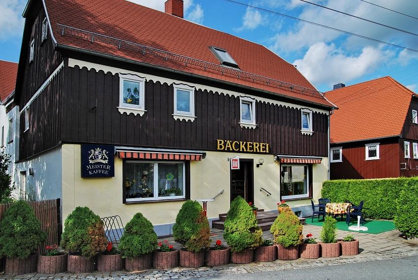 Bäckerei Bläsche in Hochkirch. Foto: Johannes Mättig