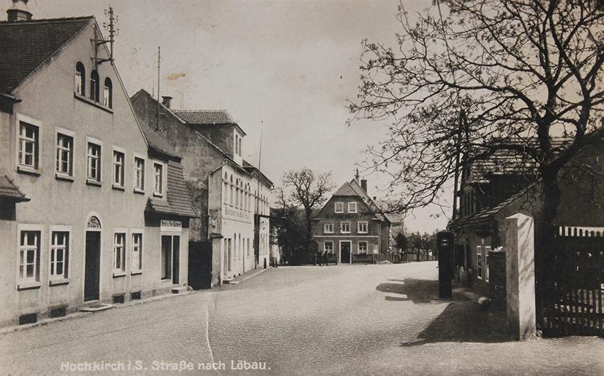 Hochkirch_Straße_nach_Löbau