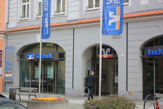 Hauptgebäude der Volksbank Bautzen in der Goschwitzstraße in Bautzen. Foto: BautzenerBote