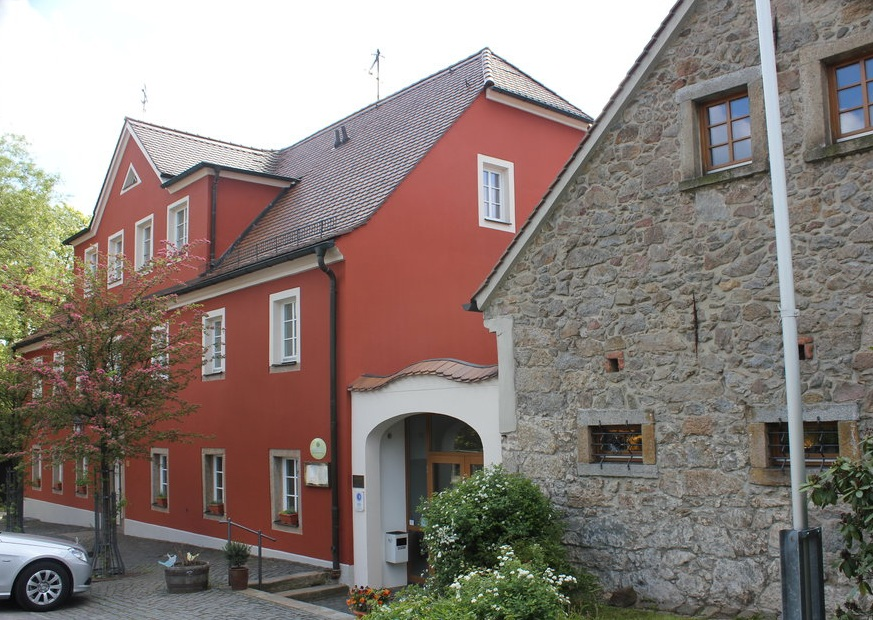 Das Landhotel Erbgericht Tautewalde um 2015.