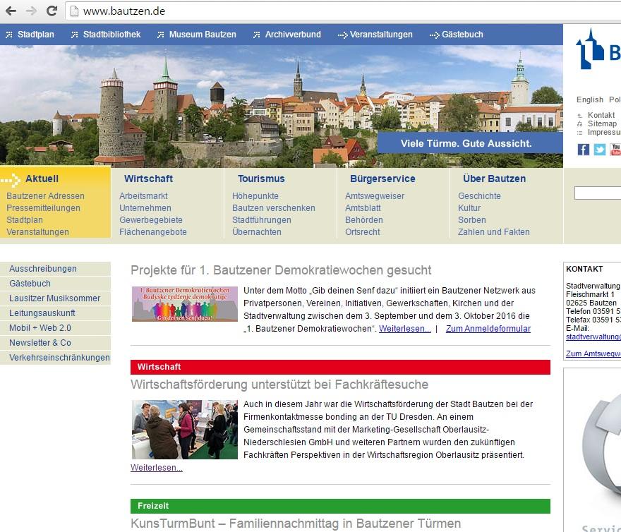 Bautzen_onlineauftritt