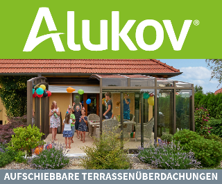Überdachungen für Terrassen und Pools von Alukov Deutschland