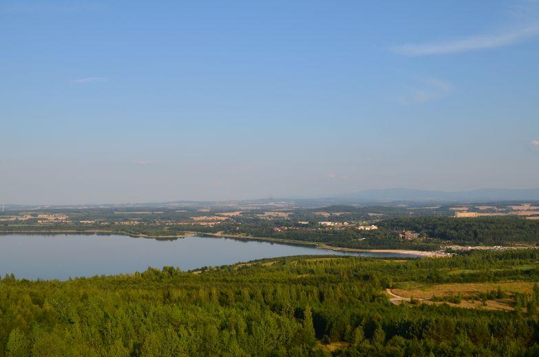 Blick auf den Berzdorfer See. Foto: Pressestelle Görlitz