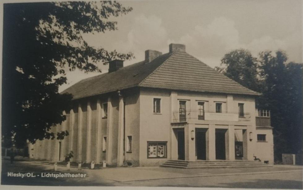 Das alte Kino in Niesky.