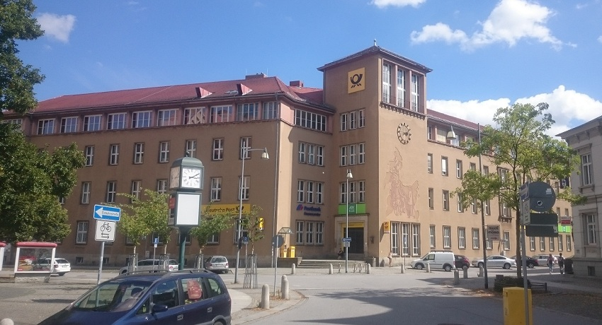 Postplatz im August 2016.