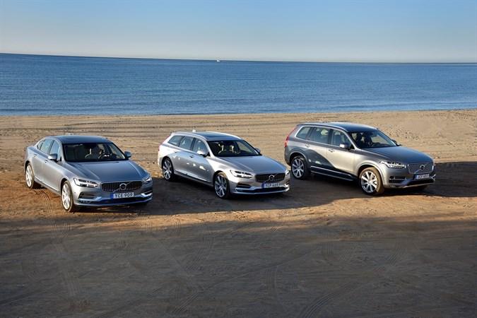 Volvo 90er Familie hat entscheidenden Anteil am Erfolg der Marke. Foto: Volvo