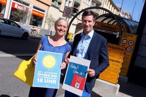 Kornmarkt-Center unterstützt Öffnungszeitenkampagne