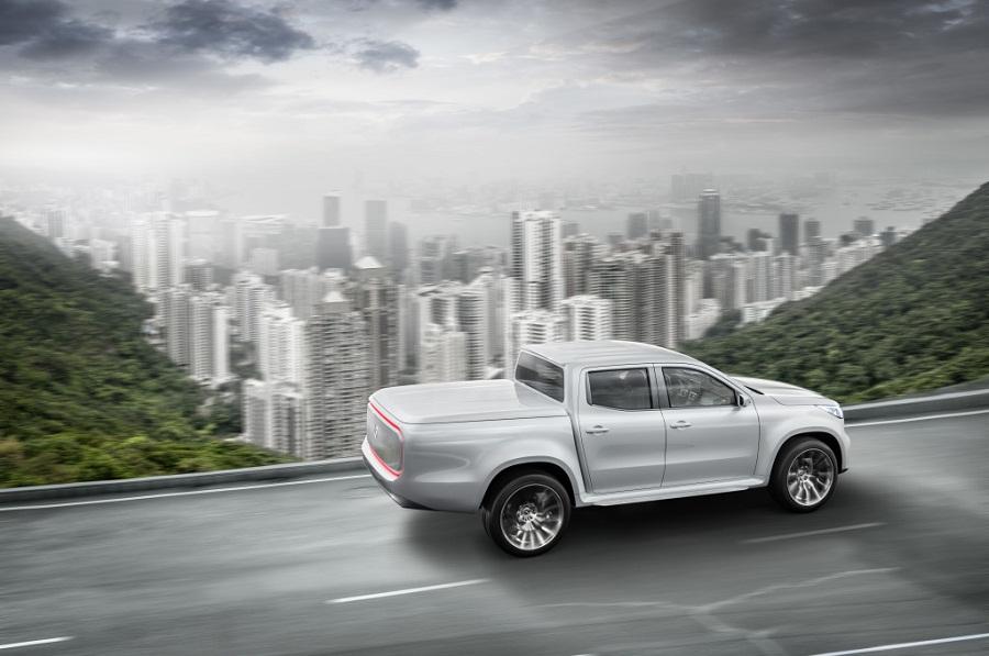 Mercedes-Benz Concept X-CLASS – Erster Ausblick auf den neuen Pickup mit Stern.