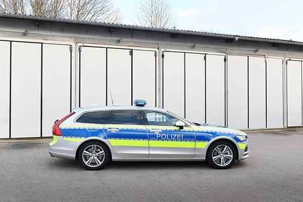 Volvo V90 Ab Sofort Als Polizeiauto Im Einsatz Bautzener Bote