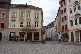 Bautzen. Hauptmarktund Reichenstraße. © LVA
